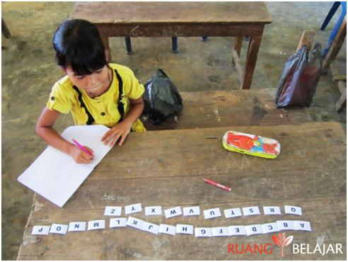 Mengenalkan Huruf dan Angka dengan Kartu Angka, Alfabet, dan Gambar Benda